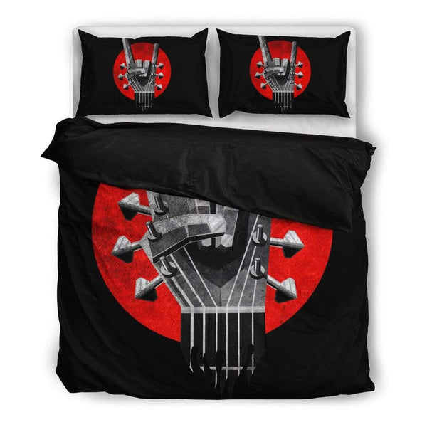 Guitar Rock Symbol Bedding Set