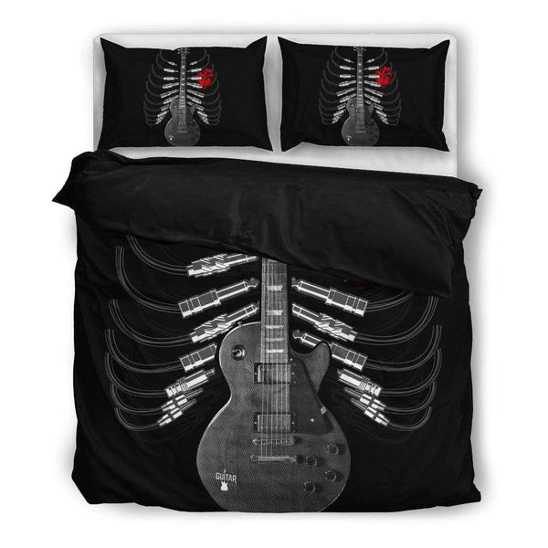 Guitar Skeleton Bedding Set