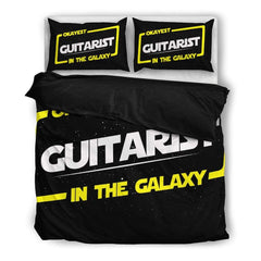Okayest Guitarist In The Galaxy Bedding Set