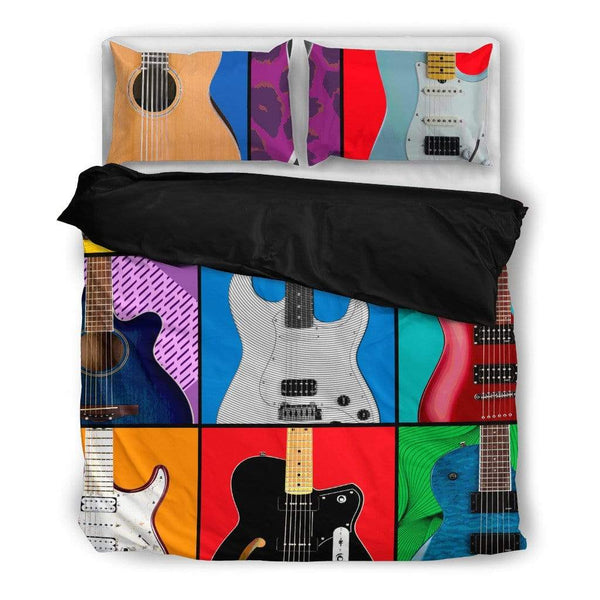 Pop Art Guitar Bedding Set