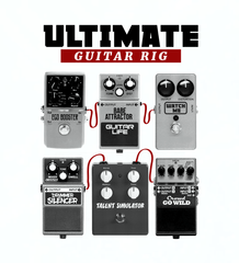 Ultimate Guitar Rig Bedding Set