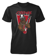 Chewie Guitar - Mens - Tshirt - Small to 5XL