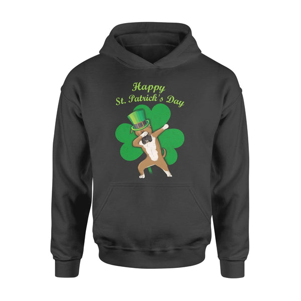 Funny St Patrick's day hoodie ideas for men women - Boxer dabbing
