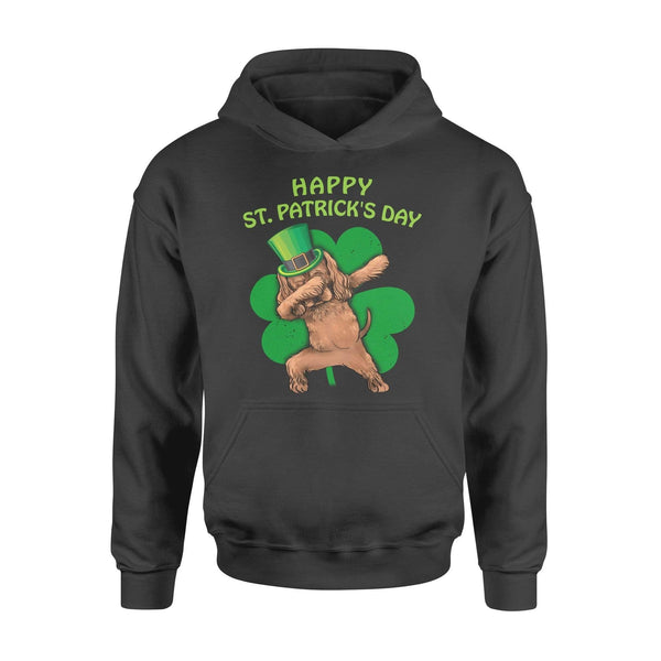 Funny St Patrick's day hoodie ideas for men women - Cocker Spaniel dabbing