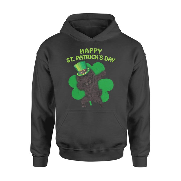 Funny St Patrick's day hoodie ideas for men women - Newfoundland dabbing