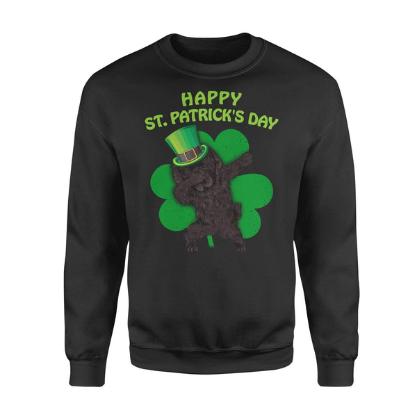 Funny St Patrick's day sweatshirt ideas for men women - Newfoundland dabbing