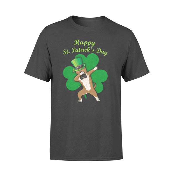 Funny St Patrick's day t-shirt tee ideas for men women - Boxer dabbing