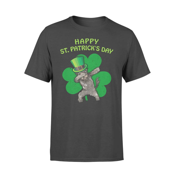 Funny St Patrick's day t-shirt tee ideas for men women - Miniature Schnauzer dabbing