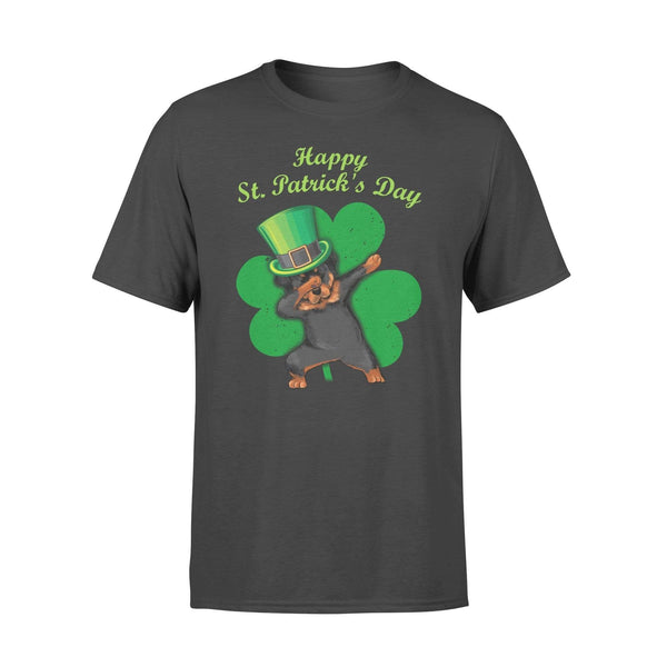 Funny St Patrick's day t-shirt tee ideas for men women - Rottweiler dabbing