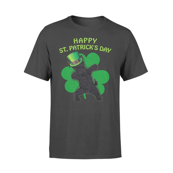 Funny St Patrick's day t-shirt tee ideas for men women - Scottish Terrier dabbing