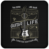 100% Proof Finest Guitar Life - Coaster