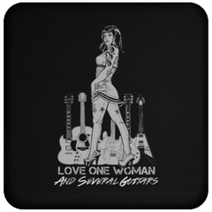 Love One Woman And Several Guitars - Coaster
