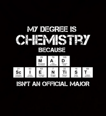 Mad Scientist Chemistry Major - Coaster