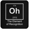 Oh The Element Of Recognition - Coaster