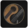 Yin Yang Bass Guitar - - Coaster