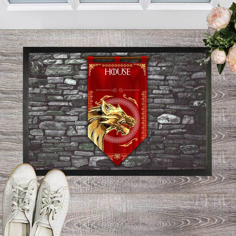 Personalized House - Your Name - Doormat - 23.6 X 15.7 (Inch)