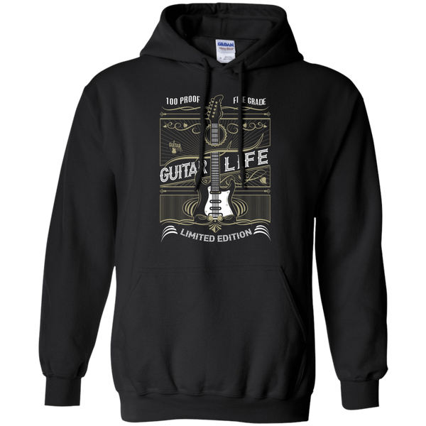 100% Proof Finest Guitar Life - Mens - Hoodie - Small to 5XL
