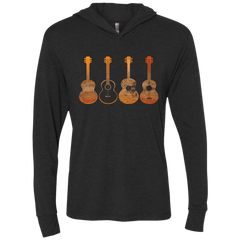 4 Guitar Print - Womens - Hoodie - Small to 2XL