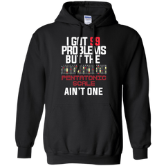 99 Problems Pentatonic Scale Not One - Mens - Hoodie - Small to 5XL