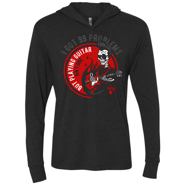 99 Problems Playing Guitar Not One - Womens - Hoodie - Small to 2XL