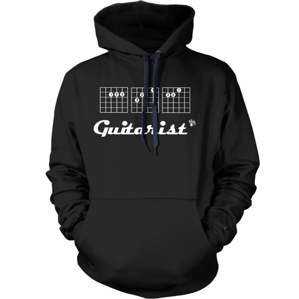 Ace Guitarist - Mens - Hoodie - Small to 5XL