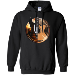Acoustic and Electric Playing Guitars - Mens - Hoodie - Small to 5XL
