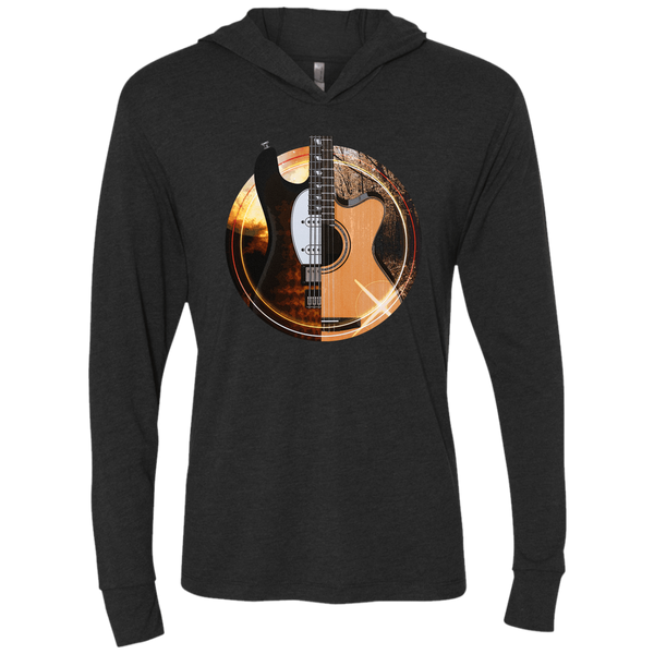 Acoustic and Electric Playing Guitars - Womens - Hoodie - Small to 2XL