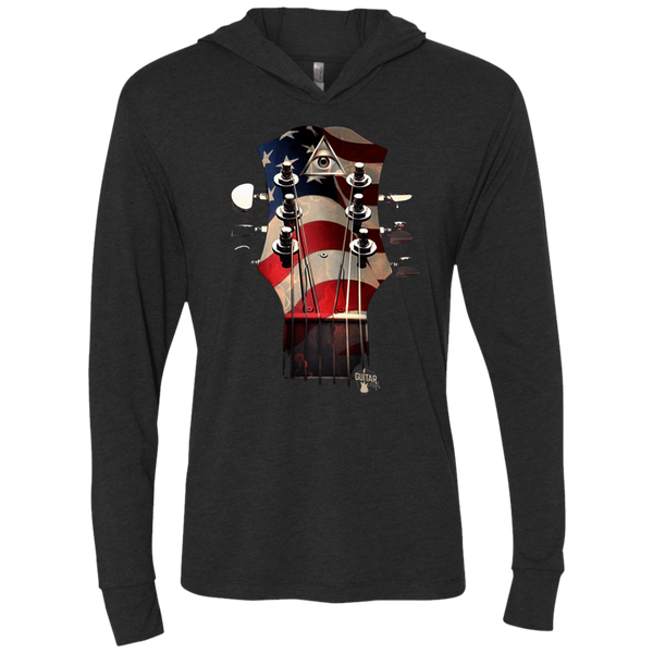 All Seeing Guitar USA - Womens - Hoodie - Small to 2XL