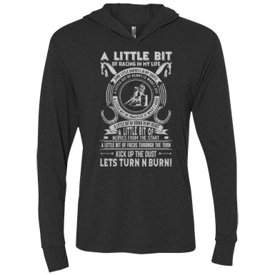 Barrel Racing - Life - Womens - Hoodie - Small to 2XL