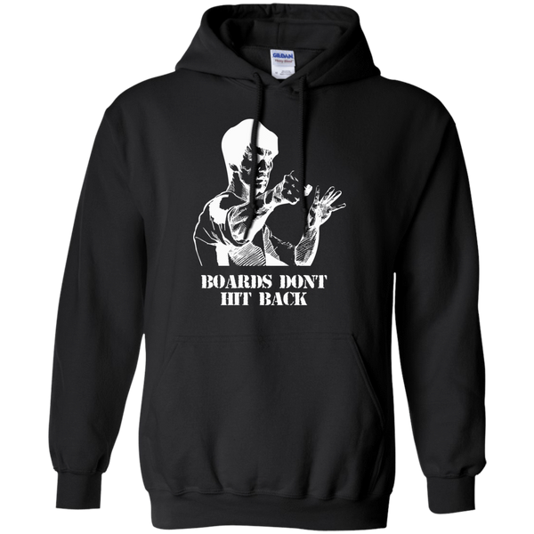 Boards Don't Hit Back - Mens - Hoodie - Small to 5XL