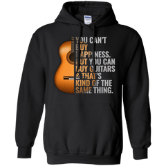 Can't Buy Happiness But Can Buy Guitars Mens - Hoodie - Small to 5XL