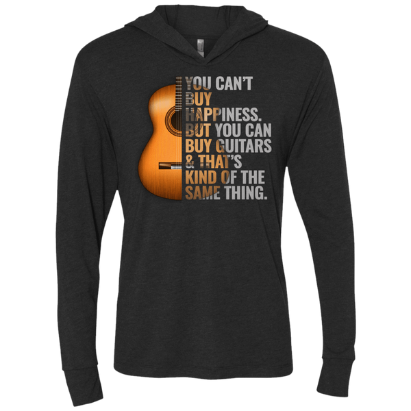 Can't Buy Happiness But Can Buy Guitars - Womens - Hoodie - Small to 2XL