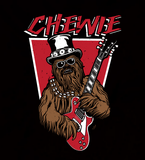 Chewie Guitar - Mens - Hoodie - Small to 5XL