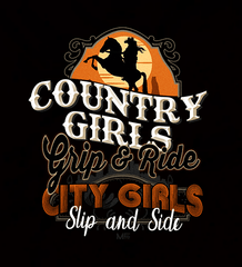 Country Girls Grip & Ride - Womens - Hoodie - Small to 2XL