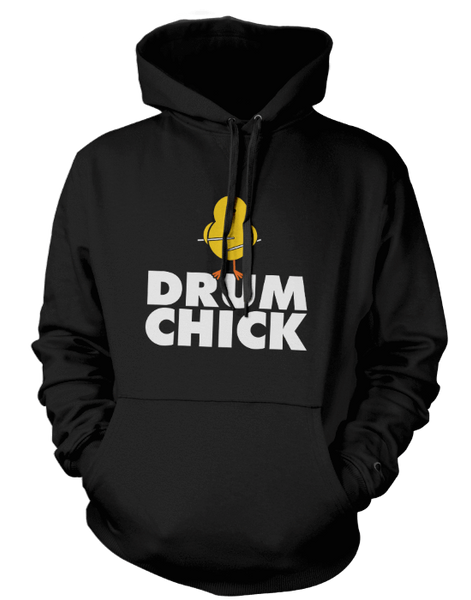 Drum Chick - Mens - Hoodie - Small to 5XL