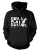 Girls Play Guitar. Get over it! - Mens - Hoodie - Small to 5XL