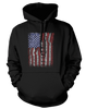 Guitar Flag - Mens - Hoodie - Small to 5XL