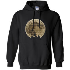 Guitar In The Moonlight - Mens - Hoodie - Small to 5XL
