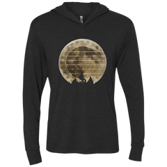Guitar In The Moonlight - Womens - Hoodie - Small to 2XL