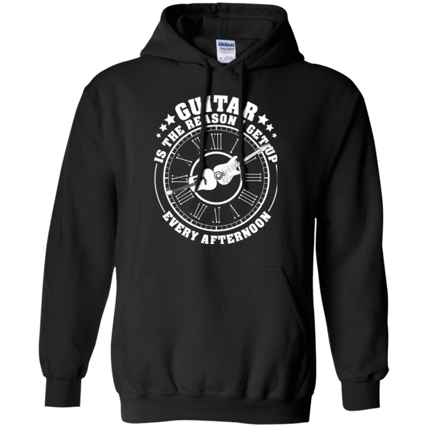 Guitar Is The Reason I Get Up Every Afternoon _?? Mens - Hoodie - Small to 5XL