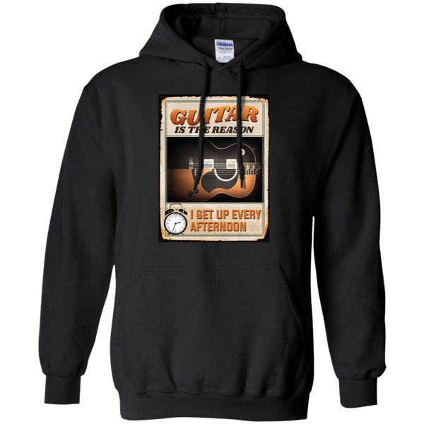 Guitar Is The Reason I Get Up Every Afternoon 2018 - Mens - Hoodie - Small to 5XL