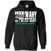 How Many Harmonicas Do I Really Need? Just One More.... - Mens - Hoodie - Small to 5XL