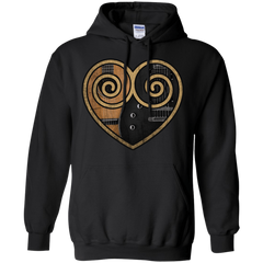 Love Symbol (Guitar) - Mens - Hoodie - Small to 5XL
