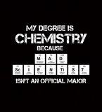 Mad Scientist Chemistry Major - Mens - Hoodie - Small to 5XL