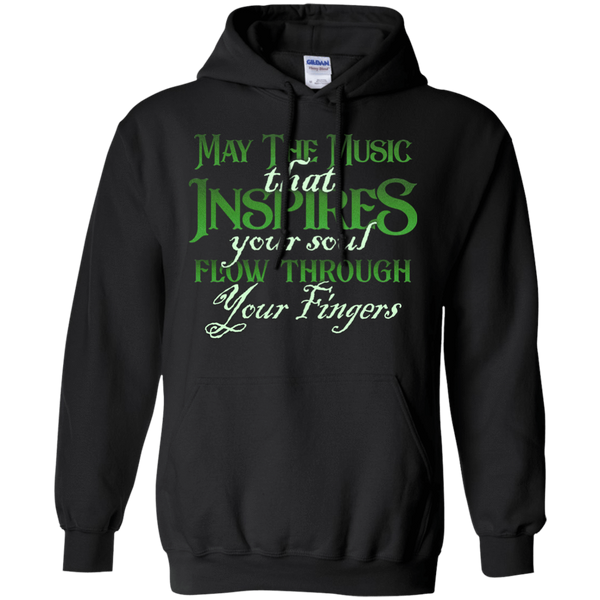 May The Music Flow Through Your Fingers 2018 - Mens - Hoodie - Small to 5XL