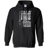 My Guitar Is My Best Friend - Mens - Hoodie - Small to 5XL