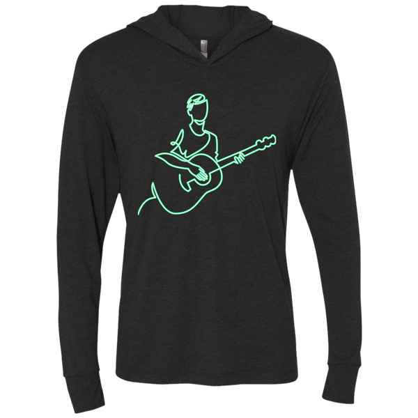 Neon Guitarist - Womens - Hoodie - Small to 2XL