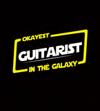 Okayest Guitarist In The Galaxy - Mens - Hoodie - Small to 5XL