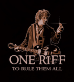 One Riff To Rule Them All - Mens - Hoodie - Small to 5XL