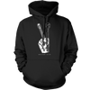 Peace Gesture (Guitar) - Mens - Hoodie - Small to 5XL